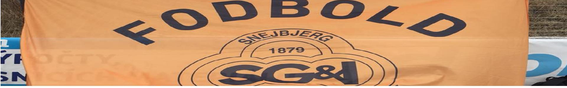 Banner Snejbjerg fodbold